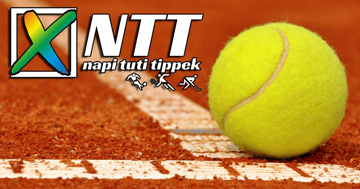 2019 06 01 Szombat – Bomba tenisz tippekkel indítottuk a júniust!