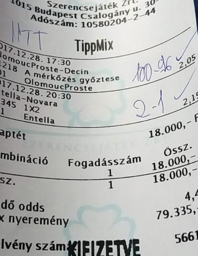 napitutitippek.hu - A legjobb Tippmix tippek szolgáltatója!