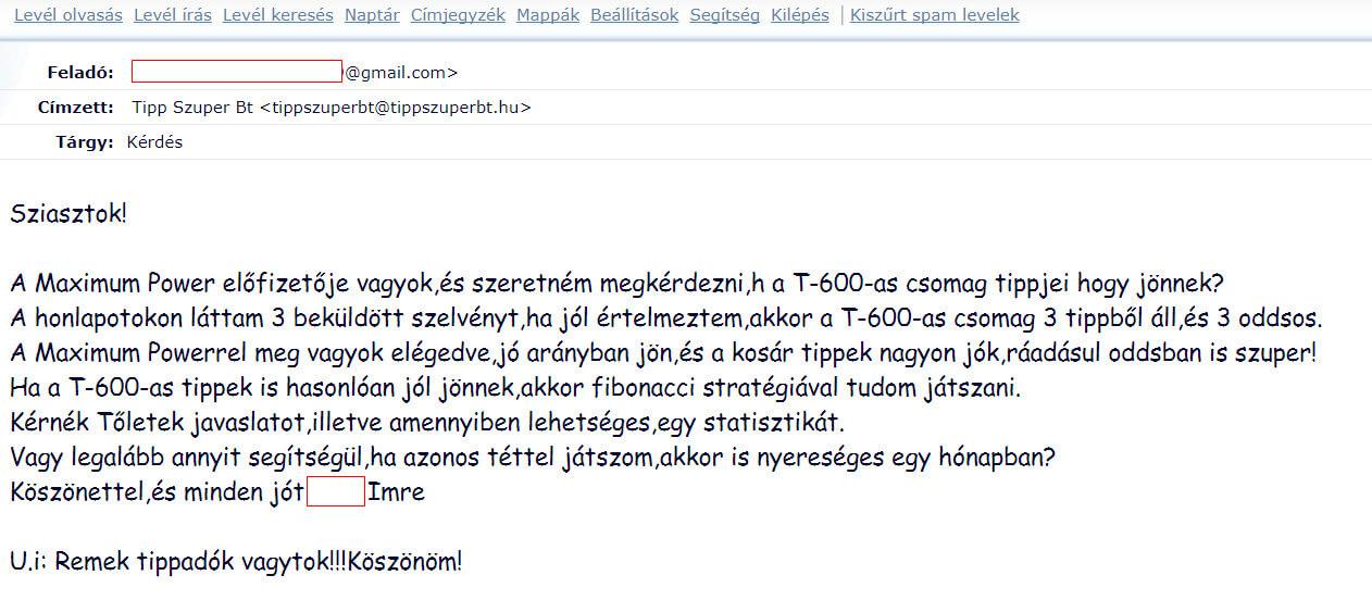 Foci tippek, Tippmix tippek, mérkőzés elemzések, statisztikai adatok. Napi ingyenes tippek. Csatlakozz Magyarország legsikeresebb sportfogadó csapatához!