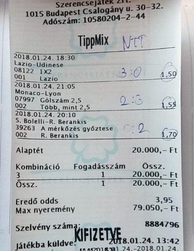 Tippmix tippek - Foci tippek - Sportfogadás