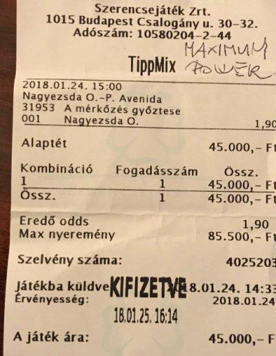 Tippmix tippek - ntt - Sándor