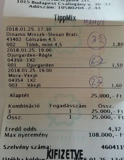 tippmix tippek -Mamut -A legjobb sportfogadás tippek!