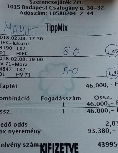 Tippmix tippek - Sportfogadás ntt