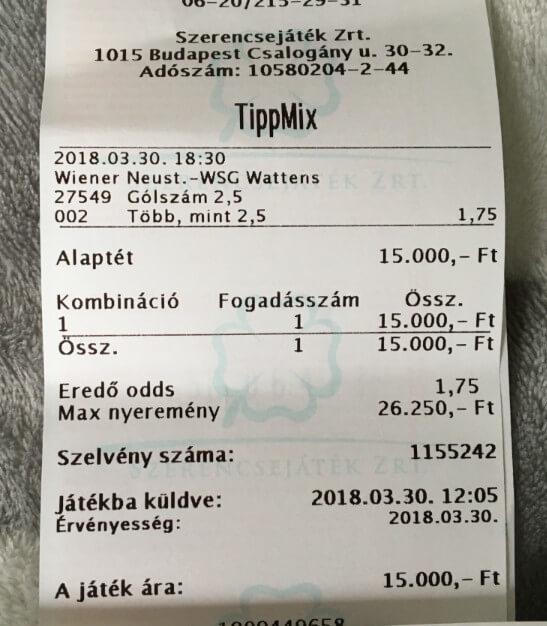 Tippmix fogadások Tippmix tippek: Tippmix tippek, mérkőzés elemzések, statisztikai adatok. Napi ingyenes tippek. Csatlakozz Magyarország legsikeresebb sportfogadó csapatához!