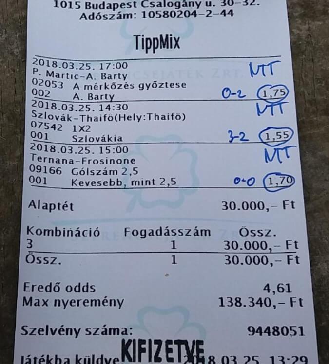 Tippmix tippek NTT Tippmix: Tippmix tippek, mérkőzés elemzések, statisztikai adatok. Napi ingyenes tippek. Csatlakozz Magyarország legsikeresebb sportfogadó csapatához!