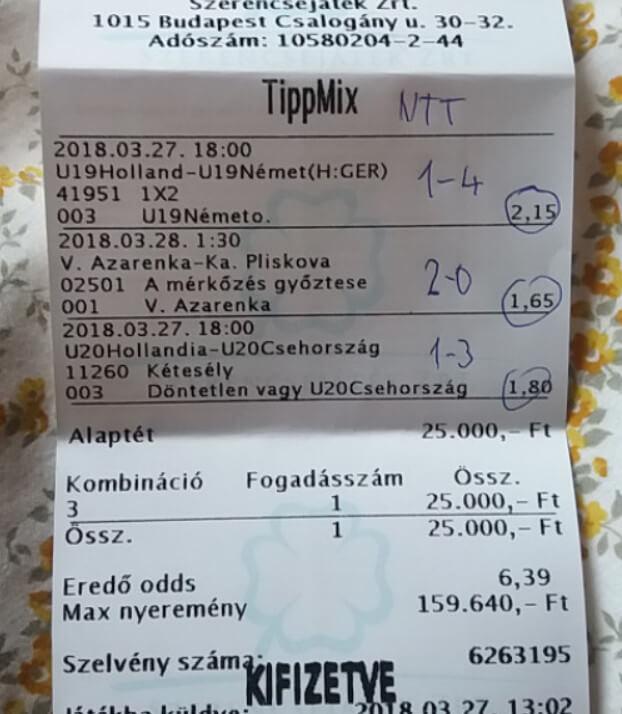 Ingyen Prémium foci tippek: Tippmix tippek, mérkőzés elemzések, statisztikai adatok. Napi ingyenes tippek. Csatlakozz Magyarország legsikeresebb sportfogadó csapatához!
