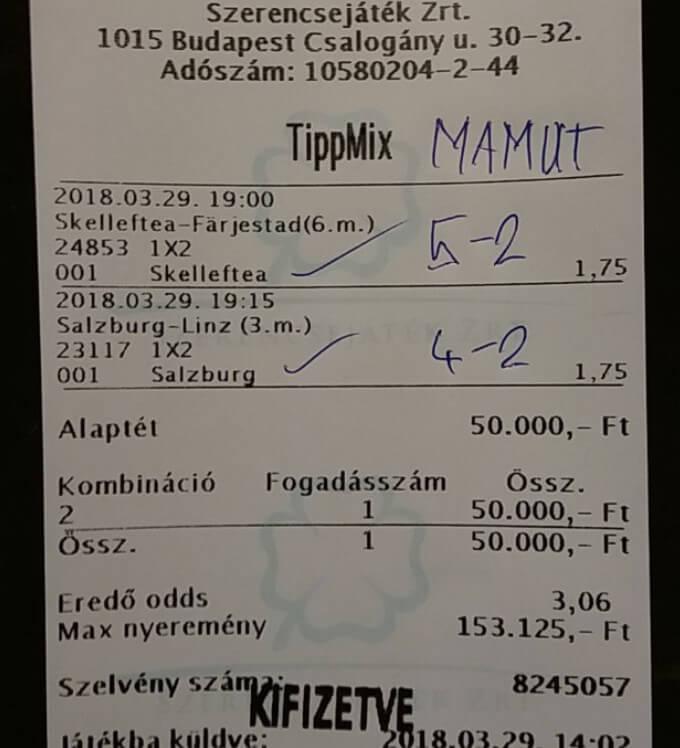 Ha Sportfogadás akkor napittuitippek.hu: Tippmix tippek, mérkőzés elemzések, statisztikai adatok. Napi ingyenes tippek. Csatlakozz Magyarország legsikeresebb sportfogadó csapatához!