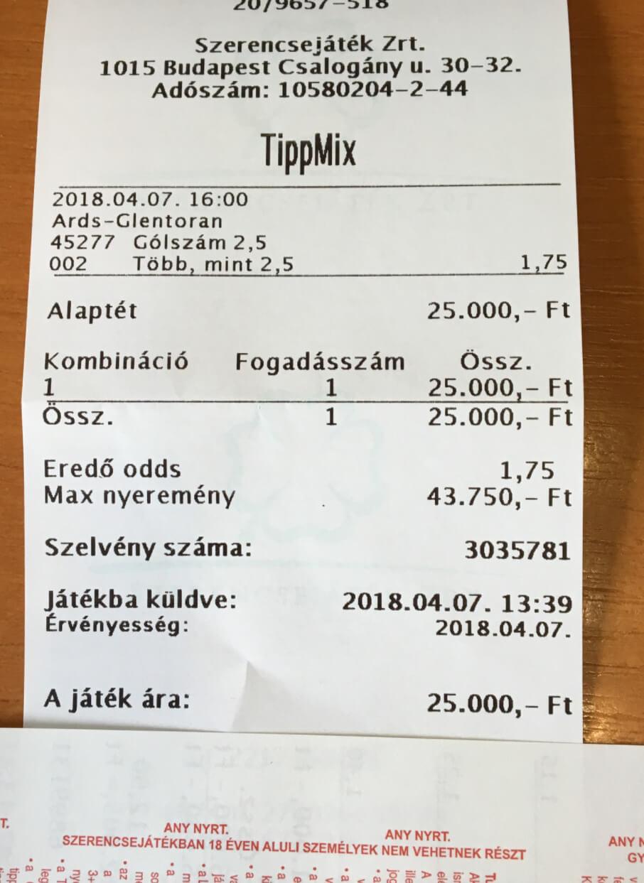 Prémium Tippmix tippek Ingyen minden nap: Tippmix tippek, mérkőzés elemzések, statisztikai adatok. Napi ingyenes tippek. Csatlakozz Magyarország legsikeresebb sportfogadó csapatához!