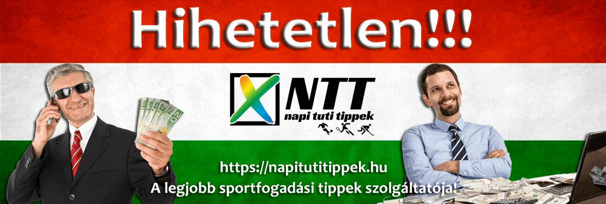 Napi tuti Tippmix tippek: Tippmix tippek, mérkőzés elemzések, statisztikai adatok. Napi ingyenes tippek. Csatlakozz Magyarország legsikeresebb sportfogadó csapatához!