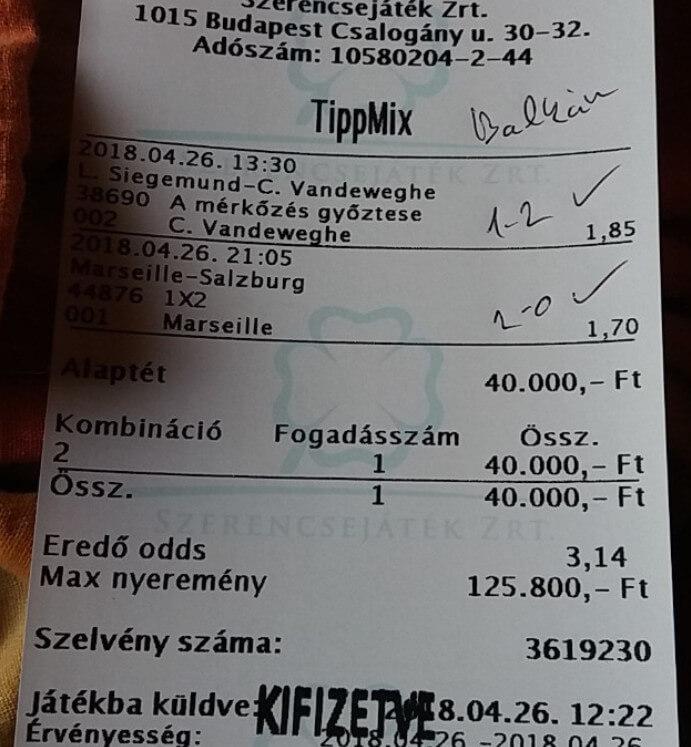 Tippmix, Sportfogadás, Nyerő tippek: Tippmix tippek, mérkőzés elemzések, statisztikai adatok. Napi ingyenes tippek. Csatlakozz Magyarország legsikeresebb sportfogadó csapatához!