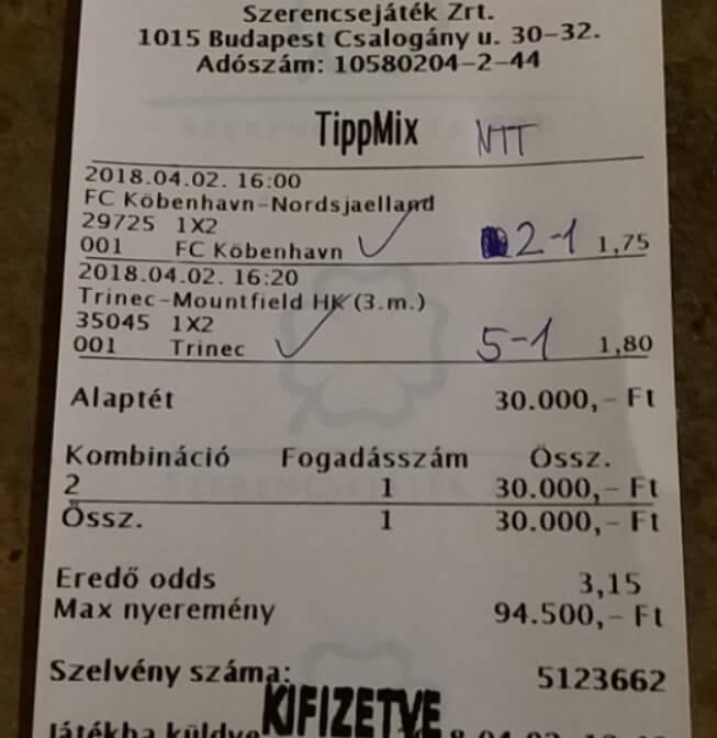 Tippmix nyerő taktika: Tippmix tippek, mérkőzés elemzések, statisztikai adatok. Napi ingyenes tippek. Csatlakozz Magyarország legsikeresebb sportfogadó csapatához!