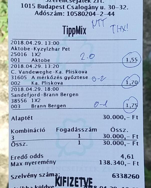 Profi TIPPMIX TIPPEK, Profi Sportfogadás: Tippmix tippek, mérkőzés elemzések, statisztikai adatok. Napi ingyenes tippek. Csatlakozz Magyarország legsikeresebb sportfogadó csapatához!