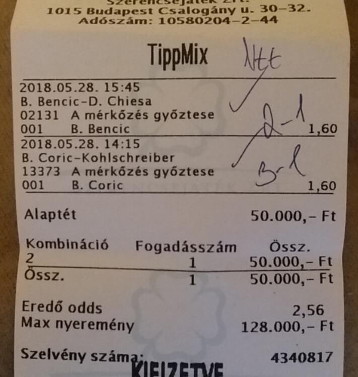 Tuti tippek - Tippmix Tippek - Tudatos Sportfogadás: Tippmix tippek, mérkőzés elemzések, statisztikai adatok. Napi ingyenes tippek. Csatlakozz Magyarország legsikeresebb sportfogadó csapatához!