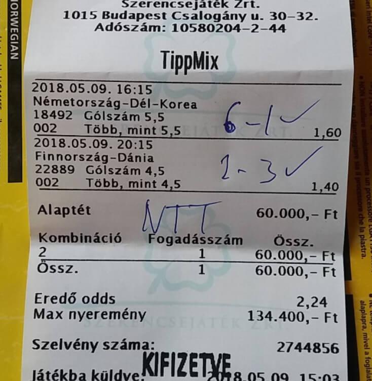 A Nyerő Tippmix tippeket tőlünk kapod: Tippmix tippek, mérkőzés elemzések, statisztikai adatok. Napi ingyenes tippek. Csatlakozz Magyarország legsikeresebb sportfogadó csapatához!