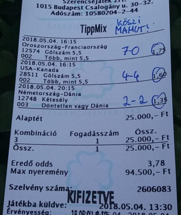 Tippmix tippek, Sportfogadási ötletek, tanácsok: Tippmix tippek, mérkőzés elemzések, statisztikai adatok. Napi ingyenes tippek. Csatlakozz Magyarország legsikeresebb sportfogadó csapatához!