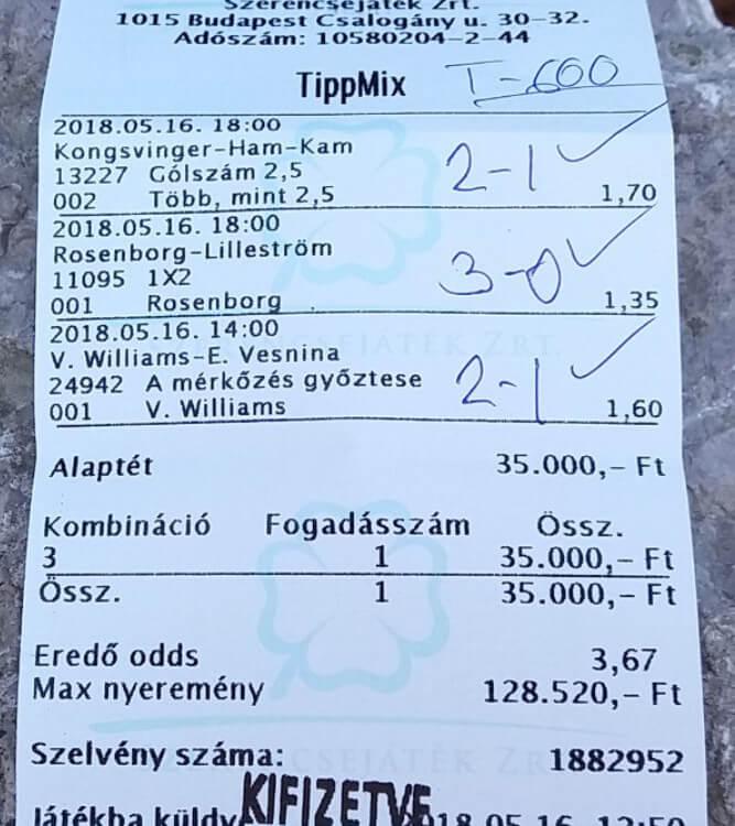 Profi Tippmix tippek sportfogadóknak: Gyere és nyerj velünk: Tippmix tippek, mérkőzés elemzések, statisztikai adatok. Napi ingyenes tippek. Csatlakozz Magyarország legsikeresebb sportfogadó csapatához!