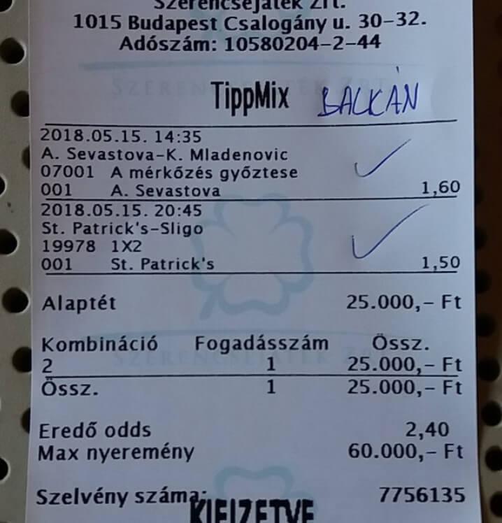 Nagytétes Sportfogadás, Ütős Tippmix tippek: Tippmix tippek, mérkőzés elemzések, statisztikai adatok. Napi ingyenes tippek. Csatlakozz Magyarország legsikeresebb sportfogadó csapatához!