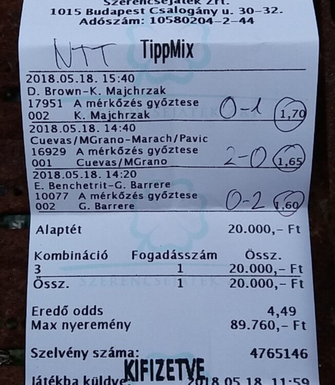 Nyerő Tippmix tippek, Tudatos sportfogadás NTT: Tippmix tippek, mérkőzés elemzések, statisztikai adatok. Napi ingyenes tippek. Csatlakozz Magyarország legsikeresebb sportfogadó csapatához!
