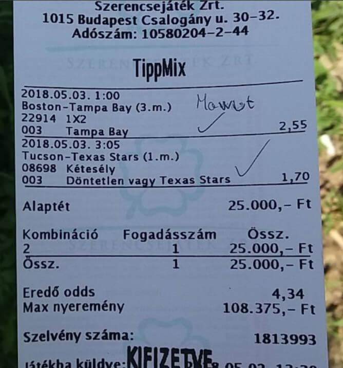 Foci tippek, Tenisz tippek, Jégkorong tippek: Tippmix tippek, mérkőzés elemzések, statisztikai adatok. Napi ingyenes tippek. Csatlakozz Magyarország legsikeresebb sportfogadó csapatához!