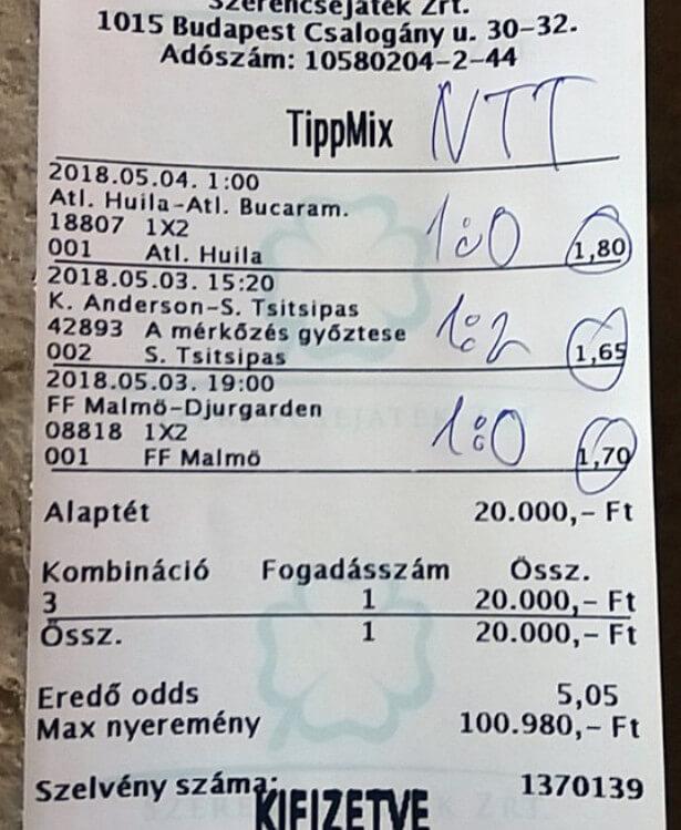 Profi Tippmix tippek az év minden napján: Tippmix tippek, mérkőzés elemzések, statisztikai adatok. Napi ingyenes tippek. Csatlakozz Magyarország legsikeresebb sportfogadó csapatához!