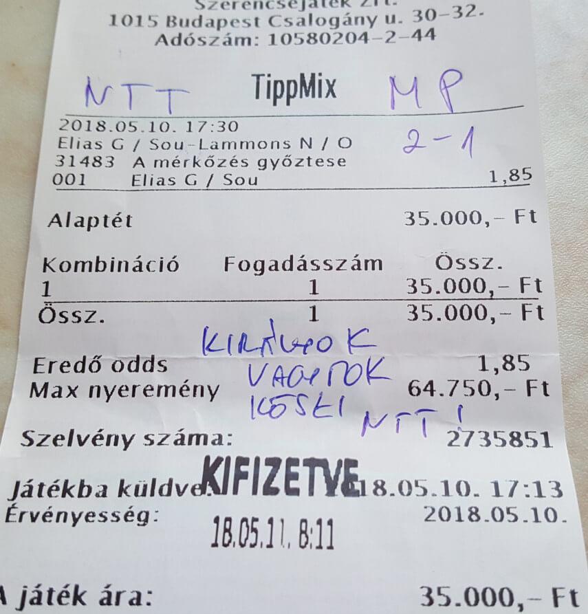 Nyerő Tippmix tippek, tudatos sportfogadás: Tippmix tippek, mérkőzés elemzések, statisztikai adatok. Napi ingyenes tippek. Csatlakozz Magyarország legsikeresebb sportfogadó csapatához!