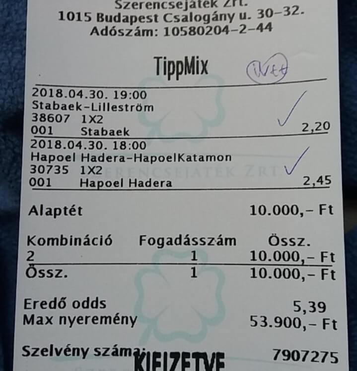 Sportfogadás, Tippmix, Ingyenes Prémium tippek: Tippmix tippek, mérkőzés elemzések, statisztikai adatok. Napi ingyenes tippek. Csatlakozz Magyarország legsikeresebb sportfogadó csapatához!