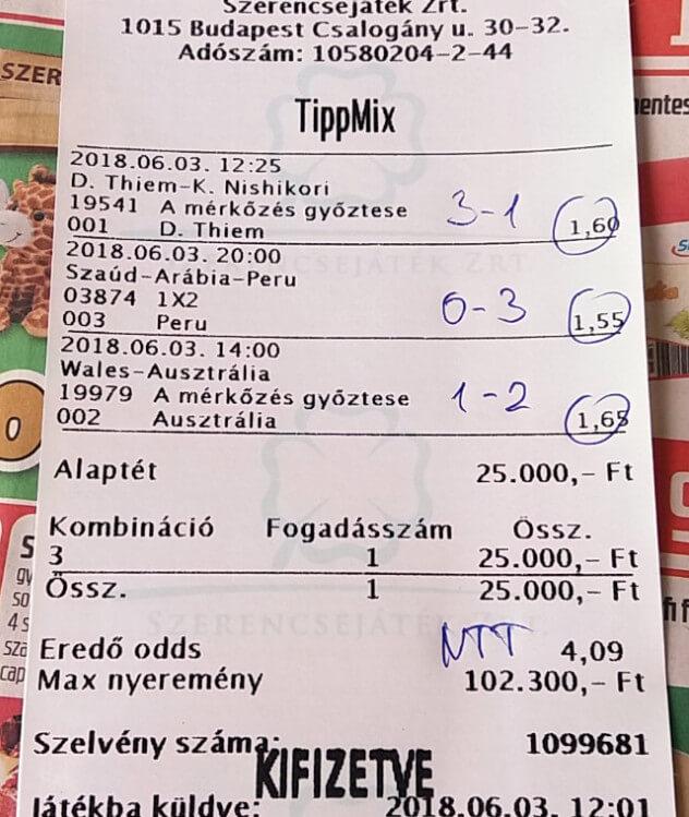 NTT: Professzionális sportfogadás! A legjobb Tippmix tippek és stratégiák: Tippmix tippek, mérkőzés elemzések, statisztikai adatok. Napi ingyenes tippek. Csatlakozz Magyarország legsikeresebb sportfogadó csapatához!