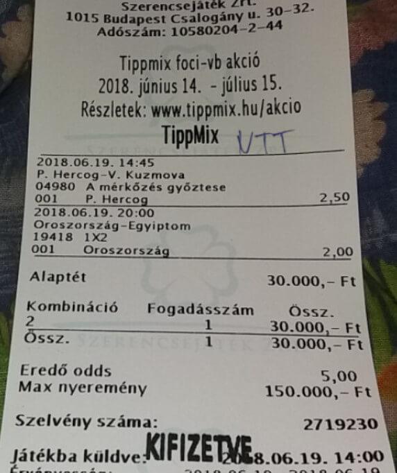 NTT: Ütős Tippmix tippek naponta: Tippmix tippek, mérkőzés elemzések, statisztikai adatok. Napi ingyenes tippek. Csatlakozz Magyarország legsikeresebb sportfogadó csapatához!