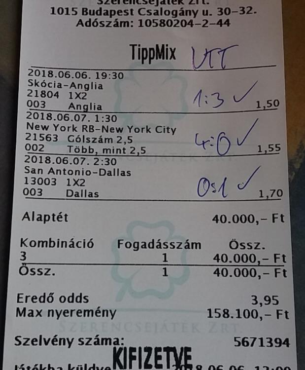 NTT: Ingyenes fogadási tippek, foci elemzések és mérkőzés előzetesek: Tippmix tippek, mérkőzés elemzések, statisztikai adatok. Napi ingyenes tippek. Csatlakozz Magyarország legsikeresebb sportfogadó csapatához!