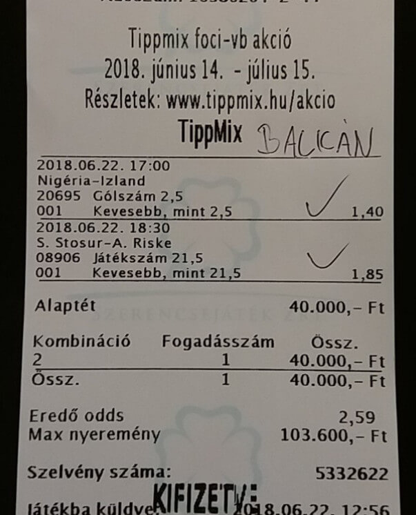 NTT: A nyerő Tippmix tippek szolgáltatója: Tippmix tippek, mérkőzés elemzések, statisztikai adatok. Napi ingyenes tippek. Csatlakozz Magyarország legsikeresebb sportfogadó csapatához!