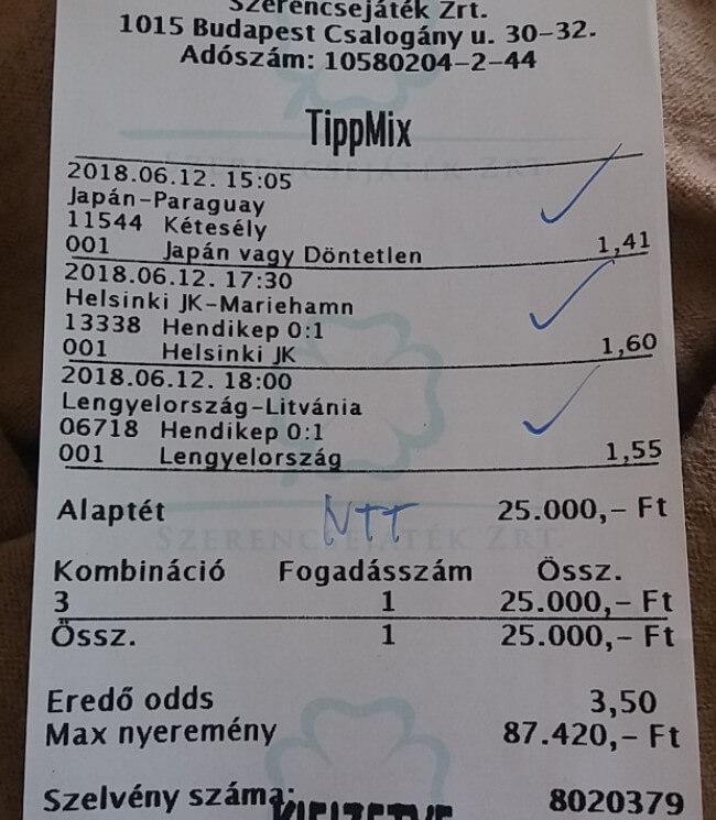 NTT: A legjobb Tippmix tippek szolgáltatója: Tippmix tippek, mérkőzés elemzések, statisztikai adatok. Napi ingyenes tippek. Csatlakozz Magyarország legsikeresebb sportfogadó csapatához!