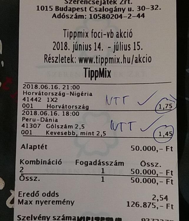 A foci VB-re a legjobb tippeket tőlünk kapod: Tippmix tippek, mérkőzés elemzések, statisztikai adatok. Napi ingyenes tippek. Csatlakozz Magyarország legsikeresebb sportfogadó csapatához!
