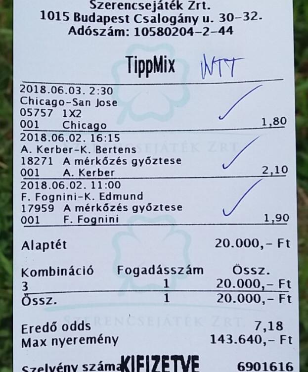 NTT: Sportfogadás, profi tippek, tippjátékok: Tippmix tippek, mérkőzés elemzések, statisztikai adatok. Napi ingyenes tippek. Csatlakozz Magyarország legsikeresebb sportfogadó csapatához!