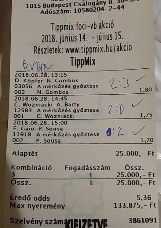 NTT: Ha kell mára is egy tutit tipp: Tippmix tippek, mérkőzés elemzések, statisztikai adatok. Napi ingyenes tippek. Csatlakozz Magyarország legsikeresebb sportfogadó csapatához!