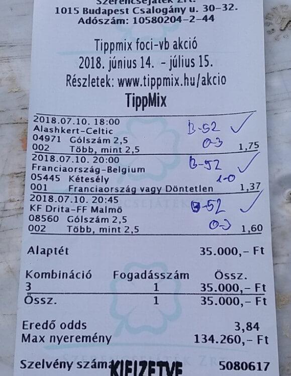 NTT: A nyerő Tippmix tippeket tőlünk kapod: Tippmix tippek, mérkőzés elemzések, statisztikai adatok. Napi ingyenes tippek. Csatlakozz Magyarország legsikeresebb sportfogadó csapatához!