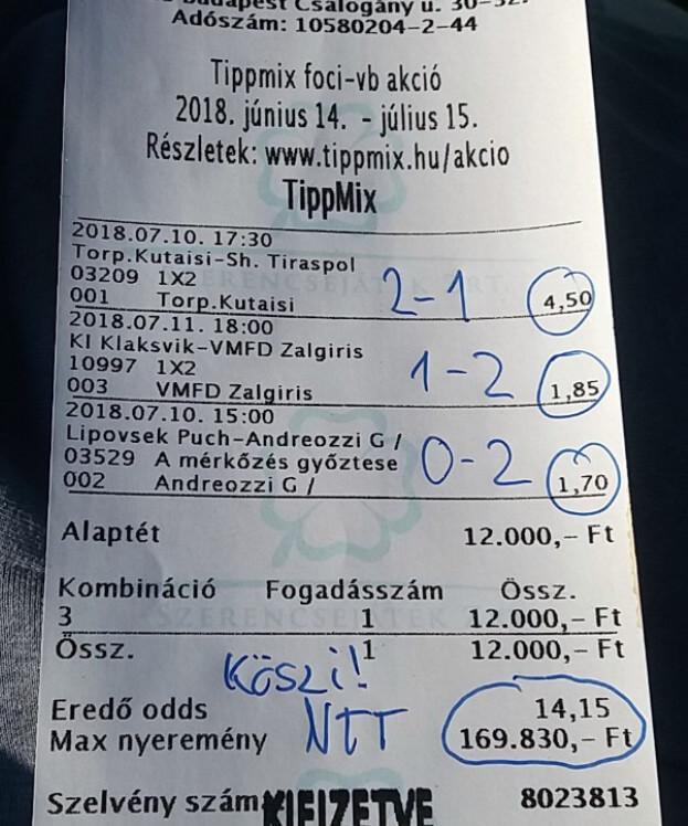 A legjobb Sportfogadási tippeket tőlünk kapod: Tippmix tippek, mérkőzés elemzések, statisztikai adatok. Napi ingyenes tippek. Csatlakozz Magyarország legsikeresebb sportfogadó csapatához!