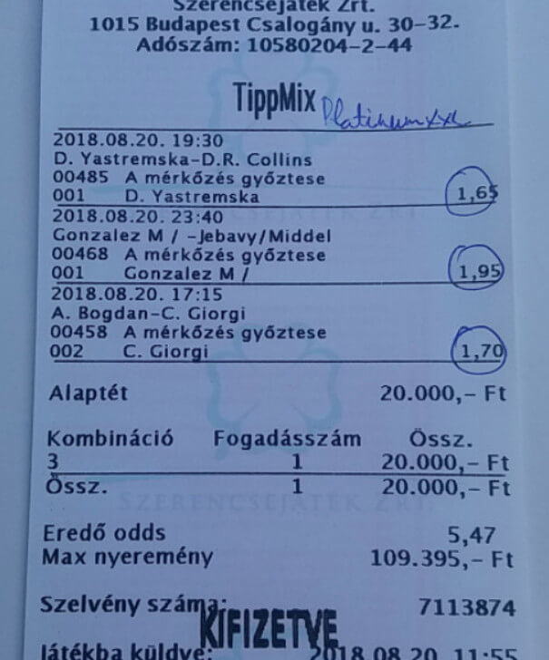NTT - Sportfogadásban az első: Tippmix tippek, mérkőzés elemzések, statisztikai adatok. Napi ingyenes tippek. Csatlakozz Magyarország legsikeresebb sportfogadó csapatához!