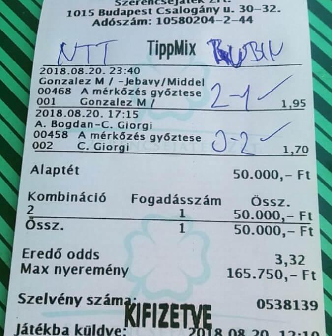 Sportfogadás tippek naponta: Tippmix tippek, mérkőzés elemzések, statisztikai adatok. Napi ingyenes tippek. Csatlakozz Magyarország legsikeresebb sportfogadó csapatához!