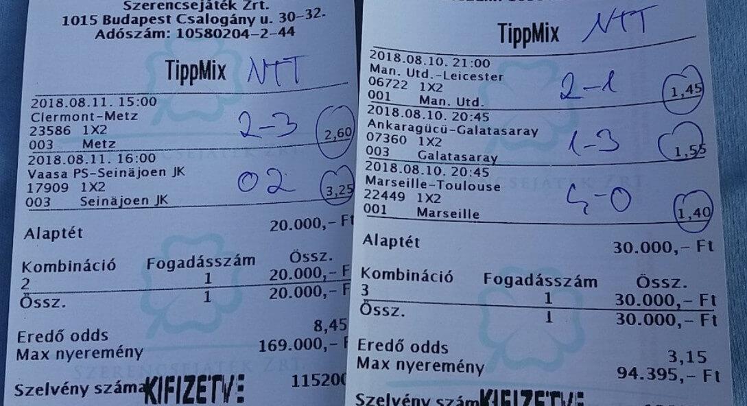 A legütősebb Tippmix tippeket tőlünk kapod: Tippmix tippek, mérkőzés elemzések, statisztikai adatok. Napi ingyenes tippek. Csatlakozz Magyarország legsikeresebb sportfogadó csapatához!