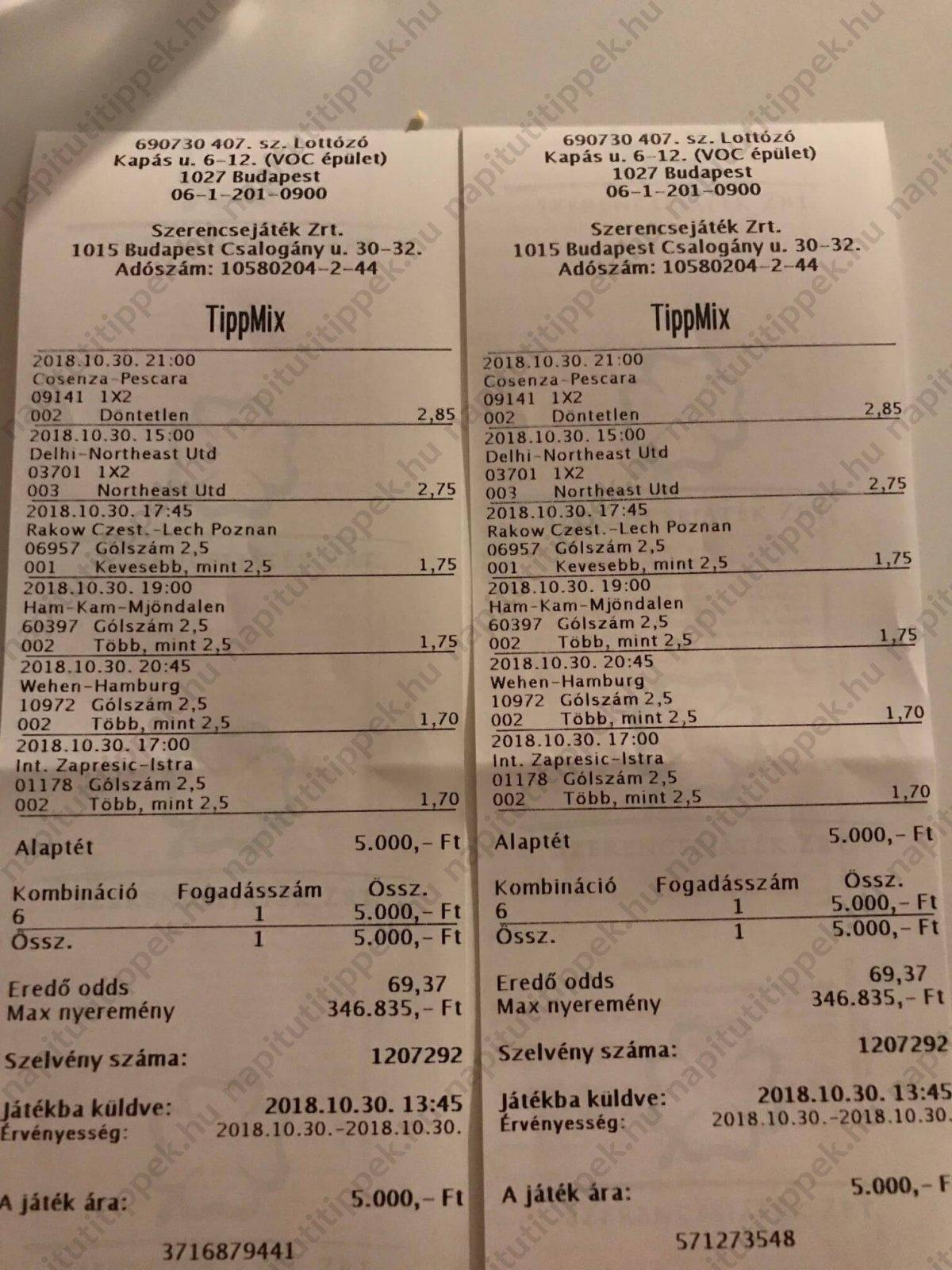 Tippmix tippek brutális nyeremények: Tippmix tippek, mérkőzés elemzések, statisztikai adatok. Napi ingyenes tippek. Csatlakozz Magyarország legsikeresebb sportfogadó csapatához!