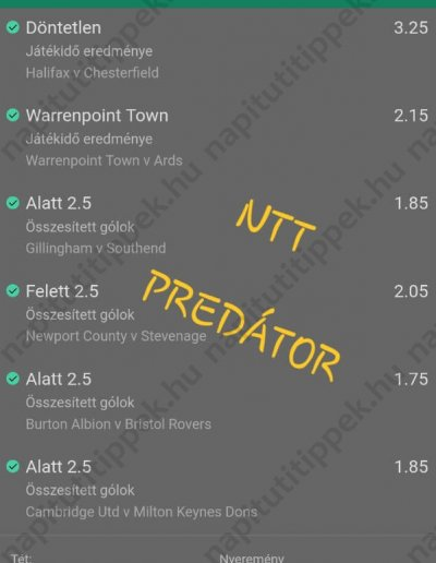 NTT Predátor 41