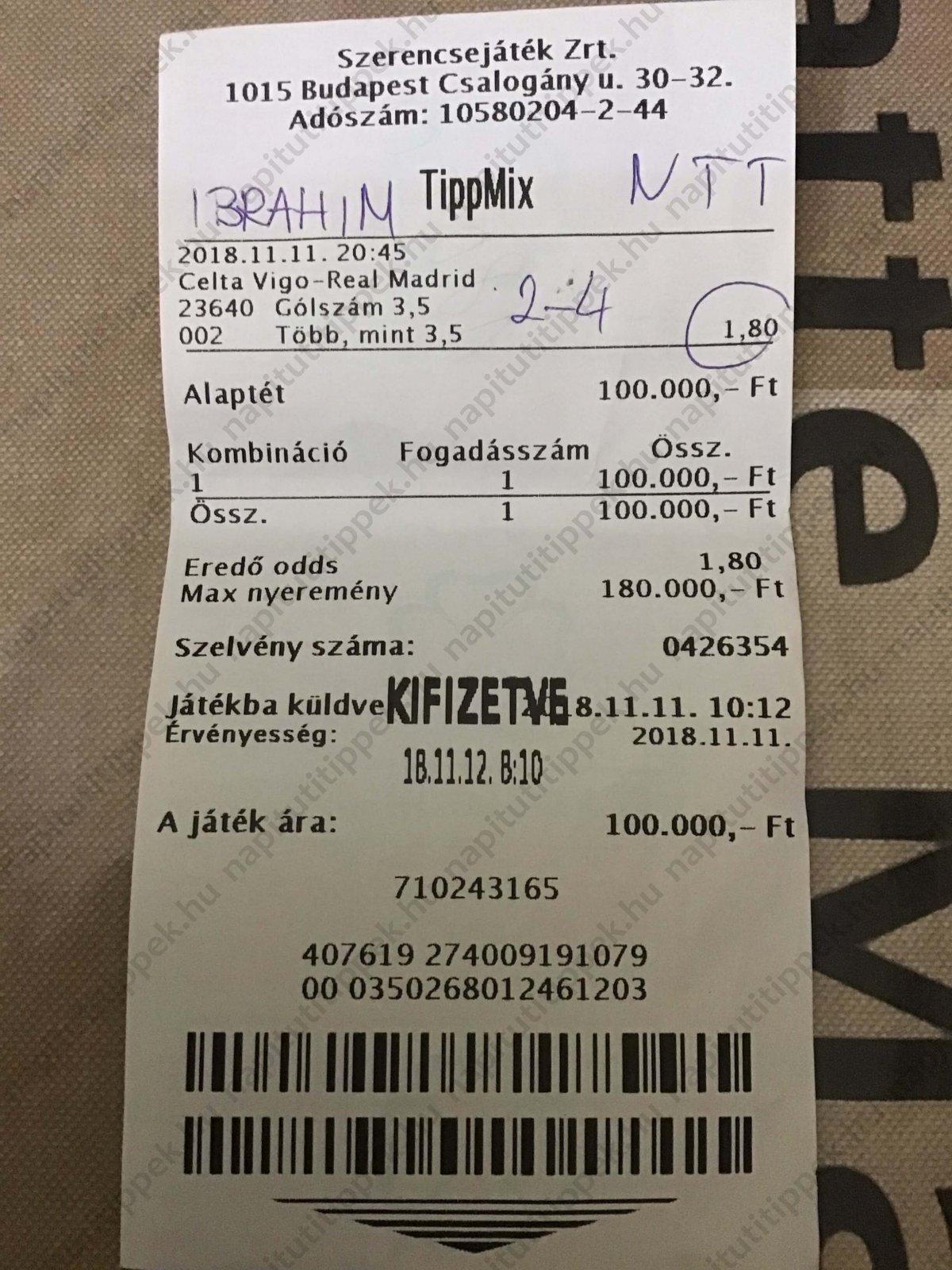 Tippmix Tippek komplett szelvényötletek: Tippmix tippek, mérkőzés elemzések, statisztikai adatok. Napi ingyenes tippek. Csatlakozz Magyarország legsikeresebb sportfogadó csapatához!