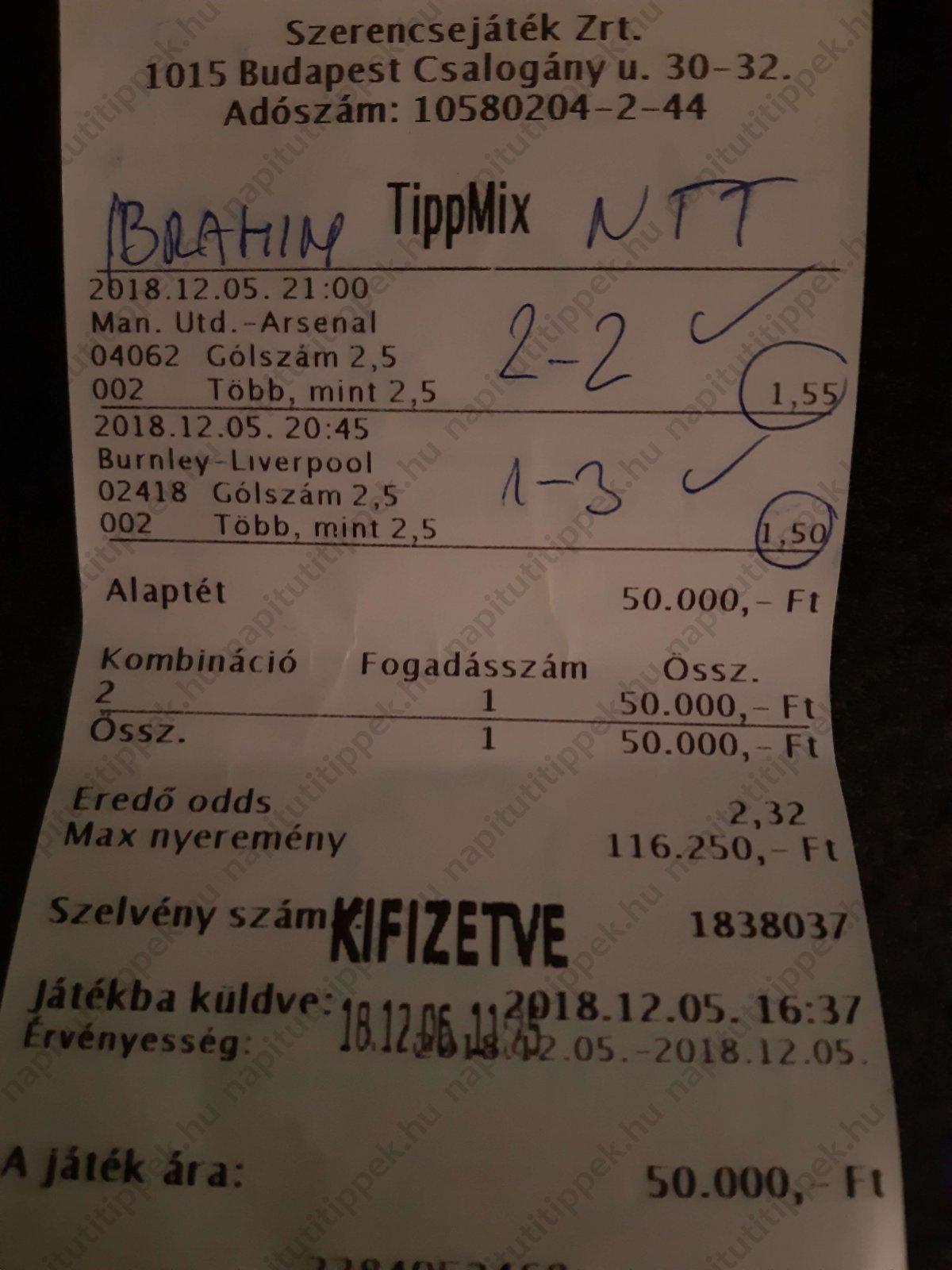 Tippmix tippek, mérkőzés elemzések, statisztikai adatok. Napi ingyenes tippek. Csatlakozz Magyarország legsikeresebb sportfogadó csapatához!