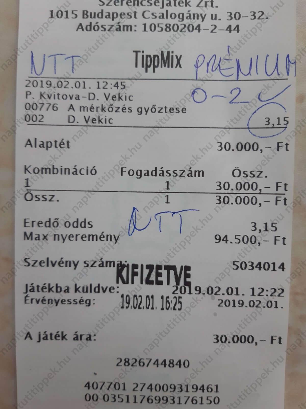 Tőlünk a legjobb Tippmix tippeket kapod: Tippmix tippek, mérkőzés elemzések, statisztikai adatok. Napi ingyenes tippek. Csatlakozz Magyarország legsikeresebb sportfogadó csapatához!