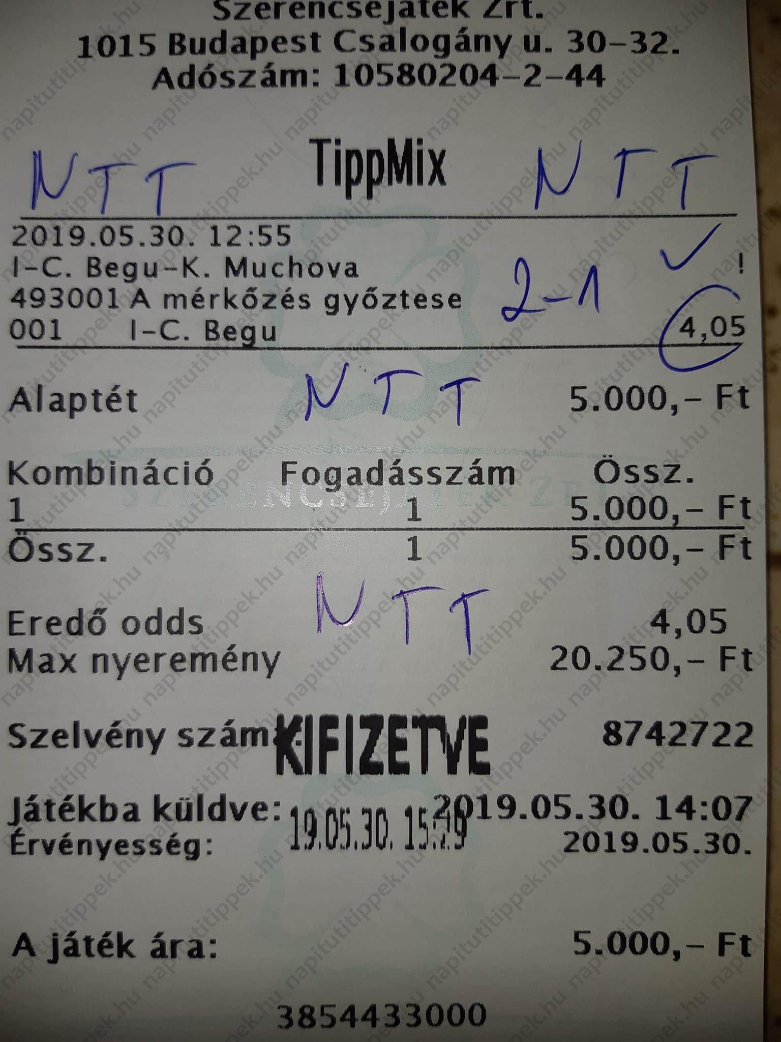Ütős Foci és Tenisz tippek sportfogadóknak: Tippmix tippek, mérkőzés elemzések, statisztikai adatok. Napi ingyenes tippek. Csatlakozz Magyarország legsikeresebb sportfogadó csapatához!
