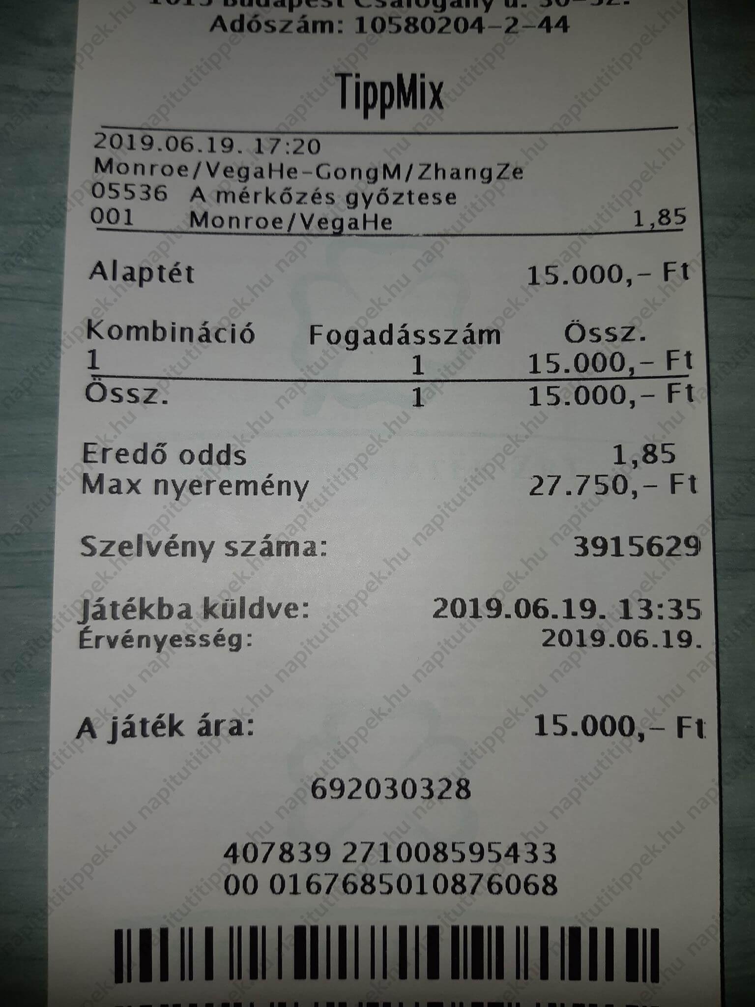 Kőkemény Tippmix tippek - Tippmix tippek Profiktól: Tippmix tippek, mérkőzés elemzések, statisztikai adatok. Napi ingyenes tippek. Csatlakozz Magyarország legsikeresebb sportfogadó csapatához!