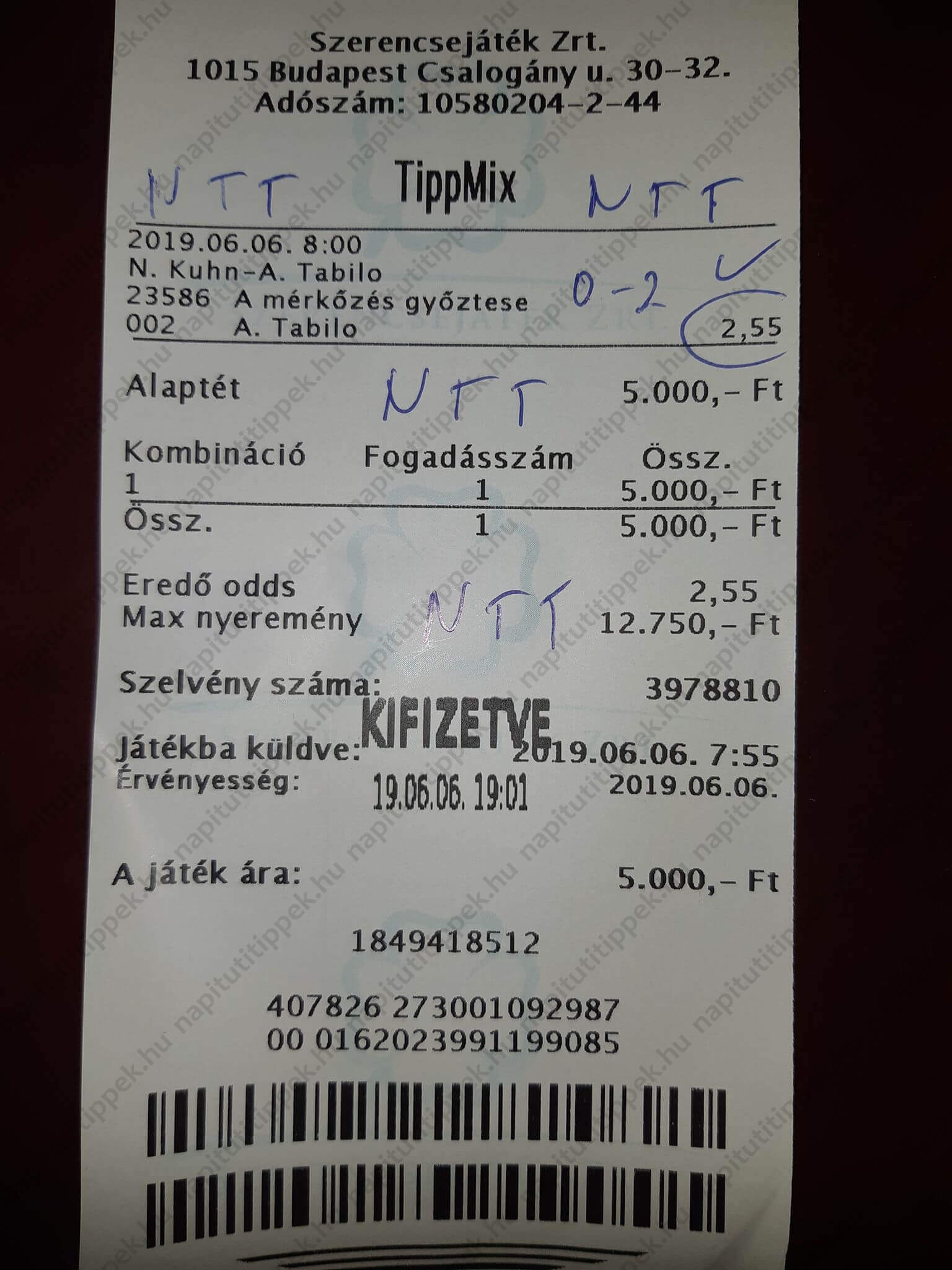 Kidolgozott sportfogadási szisztémák Tippmixre: Tippmix tippek, mérkőzés elemzések, statisztikai adatok. Napi ingyenes tippek. Csatlakozz Magyarország legsikeresebb sportfogadó csapatához!