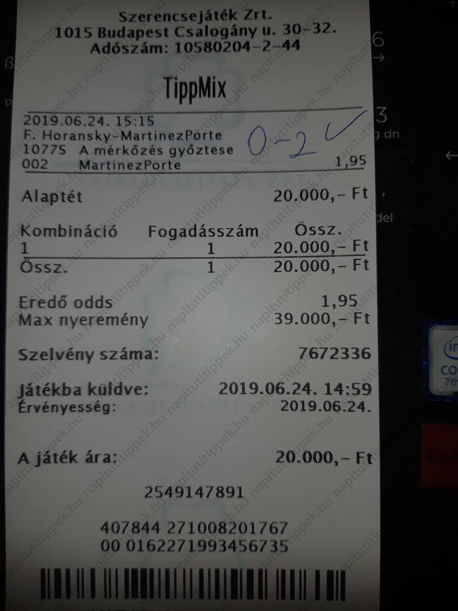 Profi Tippmix tippek és ütős sportfogadási variációk –  Tippmix tippek, mérkőzés elemzések, statisztikai adatok. Napi ingyenes tippek. Csatlakozz Magyarország legsikeresebb sportfogadó csapatához!