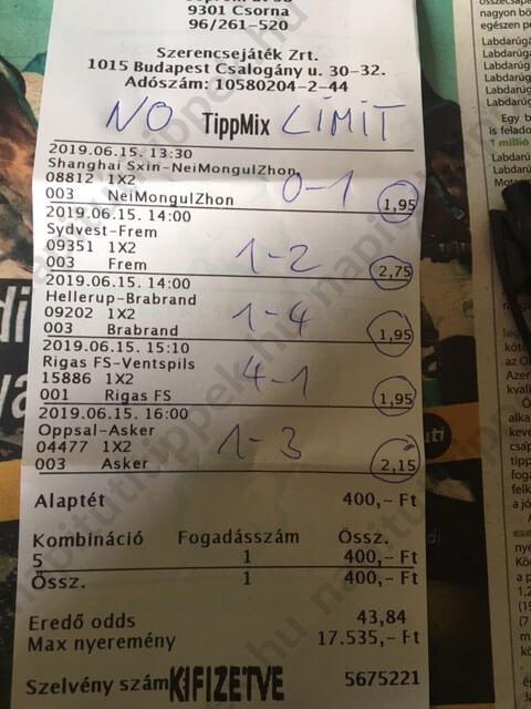 Kidolgozott Tippmix szisztémák: Tippmix tippek, mérkőzés elemzések, statisztikai adatok. Napi ingyenes tippek. Csatlakozz Magyarország legsikeresebb sportfogadó csapatához!