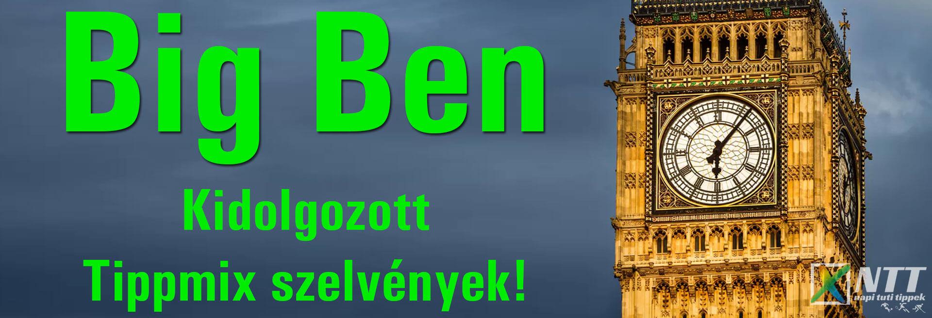 Big Ben - Tippmix tippek 1 - Tippmix tippek
